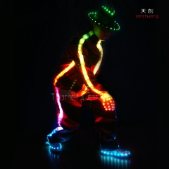 Hot Sale Dance Costumes LED Chinese Dance Costume for Promotion TC-017