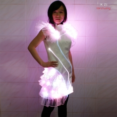Showgirls LED Latin American Dancing Dresses