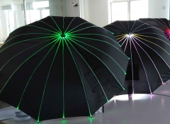 LED Lighted Umbrella, LED Umbrella, Multi Colour Changing Umbrella