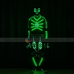 LED Light up fiber optic Jumpsuits