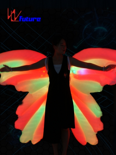 LED inflatable butterfly wings LED dance props for stage performance