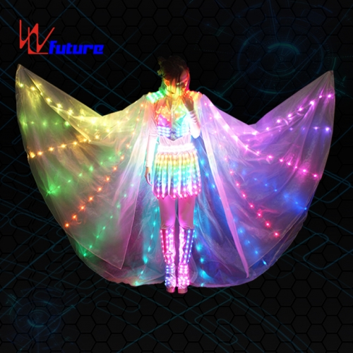 Neon clothing,custom LED stage costume,lights up dress clothing