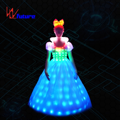 Amazing LED prom dresses, ballroom costumes,princess dresses for dancing