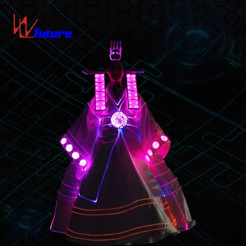 Korean style LED luminous clothing stage performance costume