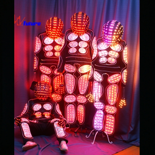 Programmalbe LED dance costumes,LED stage costume,light up clothing