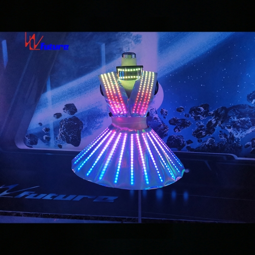 Smart LED Pixel Costume For Women Dance Event Show