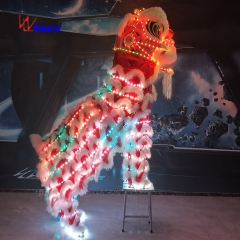Future Luxury Chinese New Year LED lion dance costume festival celebration Mascot